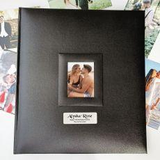 18th Birthday Photo Album 500 Black