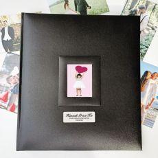 Personalised Holy Communion Photo Album 500 Black