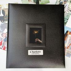 50th Birthday Photo Album 500 Black