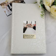 Personalised Cream Lace Wedding Photo Album - 300