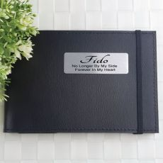 Personalised Memorial Baby Brag Photo Album - Black