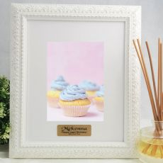 Birthday Photo Frame Venice White 5x7