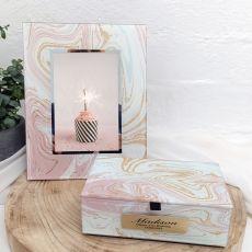21st Birthday Marmo Frame & Jewel Box Set