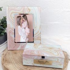 Aunt Marmo Frame & Jewel Box Set
