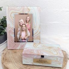Nana Marmo Frame & Jewel Box Set