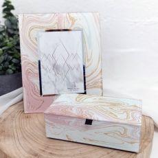 Marmo Frame & Jewel Box Set