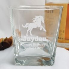 Brother Engraved Personalised Scotch Spirit Glass