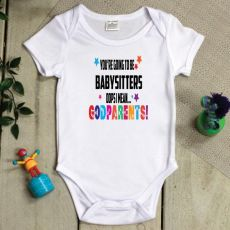 You're going to be Godparents Announcement Bodysuit