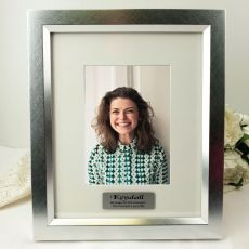 Personalised Photo Frame 5x7 Photo Silver