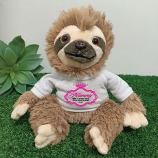 Personalised Nana Sloth Plush - Curtis