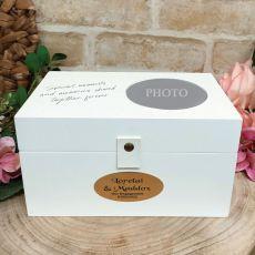 Personalised Engagement 4x6 Photo Box