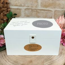 Personalised Wedding 4x6 Photo Box