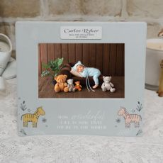 Personalised Baby Wonderful 4x6 Photo Frame