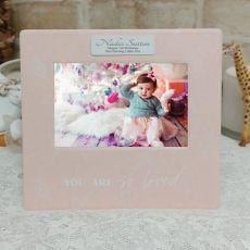 1st Birthday So Loved 4x6 Photo Frame