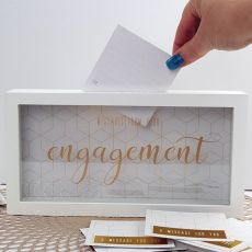 Engagement Message Keepsake Box