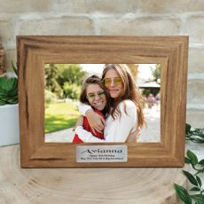 16th Personalised Photo Frame with Plaque