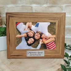 Mum Personalised Photo Frame with Plaque