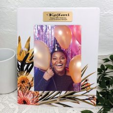 50th Birthday Flourish Moments 5x7 Frame
