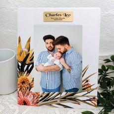 Baby Flourish Moments 5x7 Frame