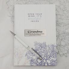 Personalised Grandma Journal Diary - Hamptons