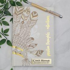 Personalised Coach Journal Diary - Havana