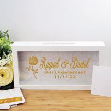 Personalised Engagement Message Box Guest Book