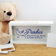 Personalised Naming Day Message Box Guest Book
