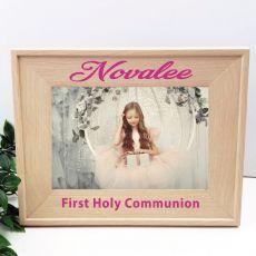 Communion 5 x 7 Photo Frame with Glitter Print