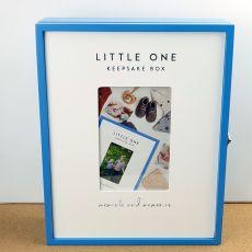 Baby Boy Blue Keepsake Box