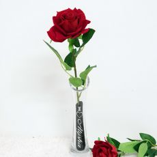 Scented Everlasting Valentine's Rose in Vase