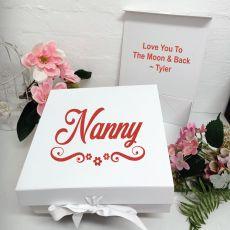 Nana Keepsake Gift Box White