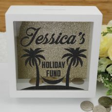 Personalised Holiday Fund Money Box