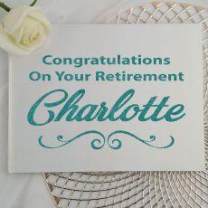 Retirement Guest Book Keepsake Album - White A4