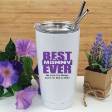 Best Mum Tumbler Travel Mug 600ml