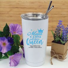 Mum A Title Above Queen Tumbler Travel Mug