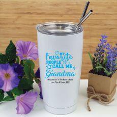 Grandma Favourite People Tumbler Travel Mug 600ml