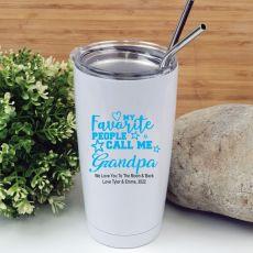 Grandpa Favourite People Tumbler Travel Mug 600ml