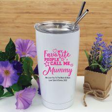 Mums Favourite People Tumbler Travel Mug 600ml