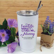 Nan Favourite People Tumbler Travel Mug 600ml