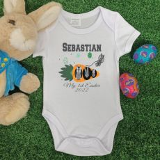 Personalised Easter Bodysuit - Space Bunny