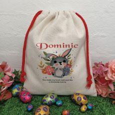 Personalised Easter Sack Hunt Bag 40cm  - Bug Eye
