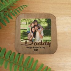 Personalised Dad Photo Magnet