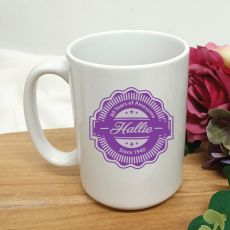 Personalised 40 Years Of Awesome Coffee Mug 15oz
