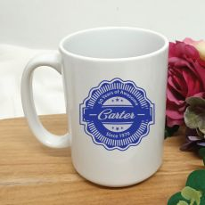 Personalised 50th Years Of Awesome Coffee Mug 15oz