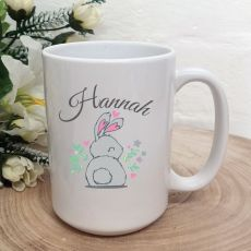 Personalised Easter Coffee Mug - Cotton Tail