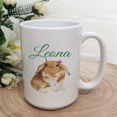 Personalised Easter Coffee Mug - Water Colour
