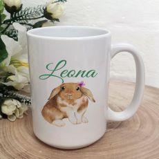 Personalised Easter Coffee Mug - Water Colour