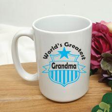 Worlds Greatest Grandma  Coffee Mug 15oz