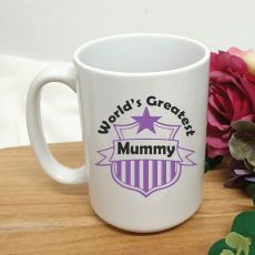 Worlds Greatest Mum Coffee Mug 15oz