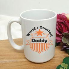 Worlds Greatest Dad Coffee Mug 15oz
